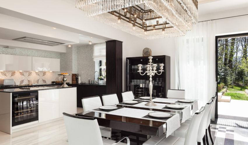 Modern Luxury Dining & Kitchen area